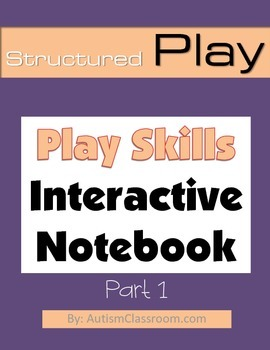 Special Education & Autism Interactive Notebook – Play Ski
