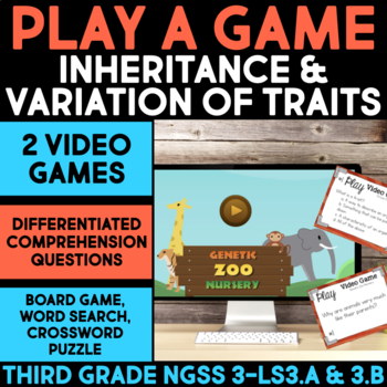Play a Video Game - Inheritance and Variation of Traits Sc