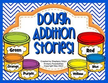 Dough Word Problem Activities {Common Core Aligned}