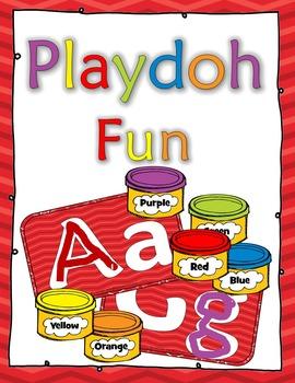 Play-dough Mats A to Z