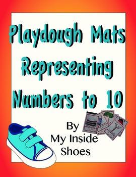 Play dough Mats - Number Representation