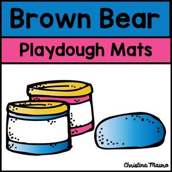 Playdough Mats - Brown Bear {Color Words}