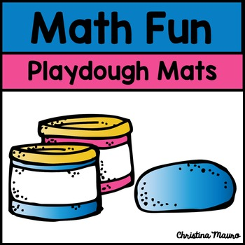 Playdough Mats - Math Fun
