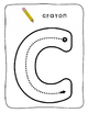 Playdoh / letter formation mats - FRENCH - Back to School