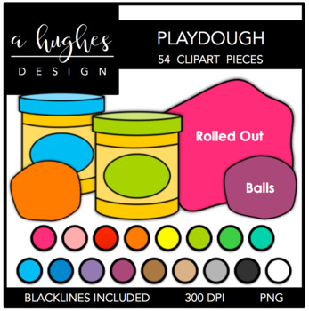 Playdough {Graphics for Commercial Use}