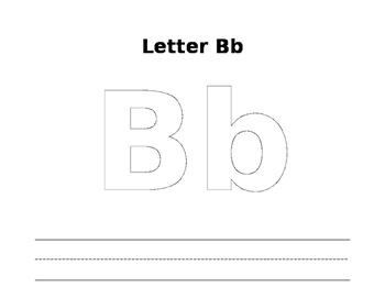 Playdough Letter Mats (A,B, and C)