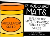 Playdough Mats {Articulation Skills}