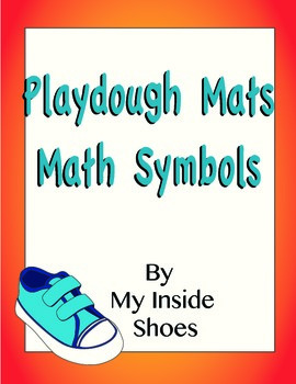 Playdough Mats-Math Symbols