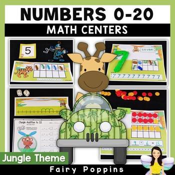 Playdough Mats Numbers (0-20), Ten Frames, Number Lines -