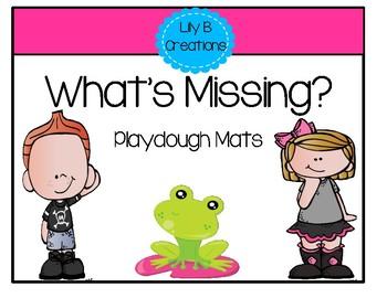 Playdough Mats ~ What's It Missing?
