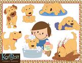 Playful Puppy, Dog Clip-Art