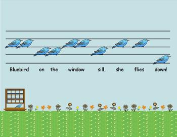 Playground Melodies - Bluebird on the Window Sill