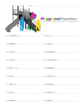 Playground Prepositions