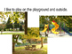 Playground Safety social story