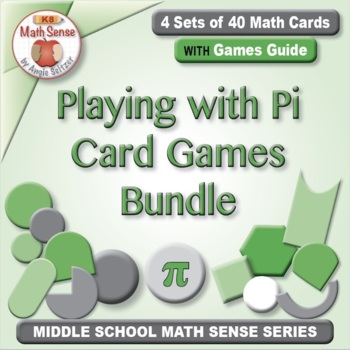 """Playing """"A Round"""" with Pi: Cards for Circumference, Perime"""