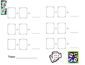 Playing Card Math