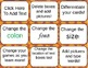 Playing In The Pumpkin Patch!  Editable Game board, Cards,