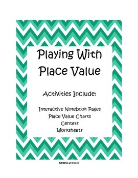Playing with Place Value