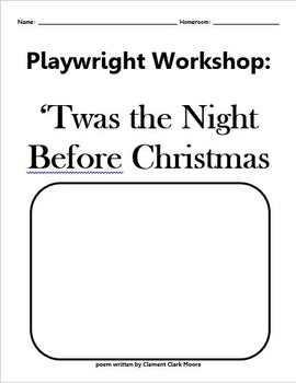 Playwright Workshop: Twas the Night Before Christmas Cover