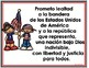 Pledge of Allegiance Bilingual Posters Freebie