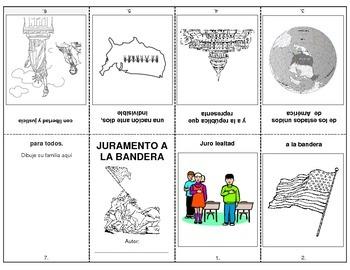 Pledge of Allegiance Booklet in Spanish