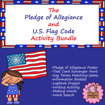 Pledge of Allegiance Mini Unit