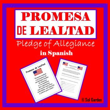 Pledge of Allegiance in Spanish