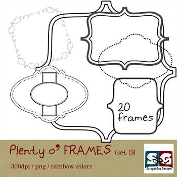 Plenty o' FRAMES set 01