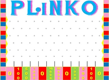 Plinko Game Template for PowerPoint