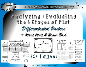 Plot 6 Stages of Plot Posters and Activities