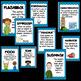 Plot Diagram and Elements of Fiction-Blue Border