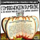 Plot Pumpkins - A Story Elements Craftivity