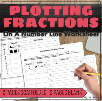 Number Line Fraction Worksheets & fraction worksheets