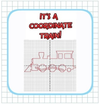 Plotting Integers - Coordinate Train Fun! - Grid & Ordered