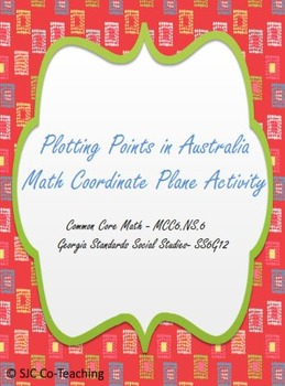 Plotting Points in Australia Math and Social Studies Coord