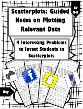 Plotting Scatterplot Data: Relevant Questions (Guided Note