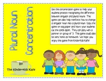 Plural Noun Concentration