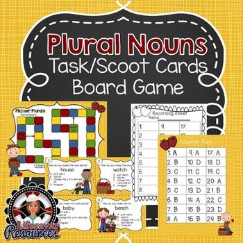 Plural Noun Game