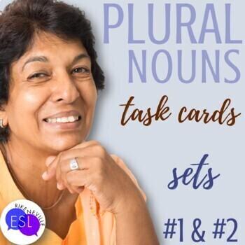 Plural Nouns (Task cards)