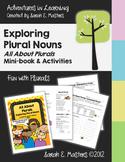 Plural Nouns - All About Plurals - Plural Nouns Booklet, A