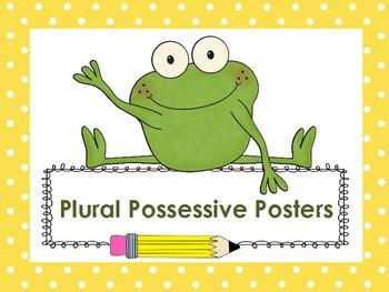 Plural Possessive Posters