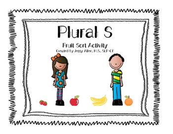 Plural S Fruit Sort