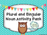 Plural and Singular Noun Activity Pack