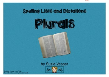 Plural spelling lists and dictations
