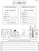 Plurals Mini Lesson and Personal Anchor Chart
