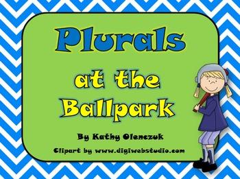 Plurals - A Language Smarboard Game