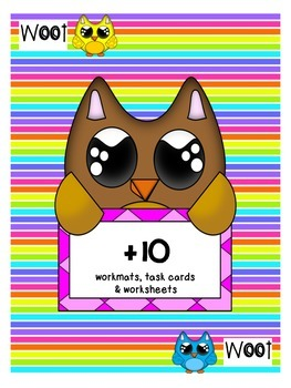 Plus 10 working mats and worksheets