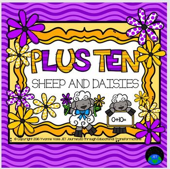 Plus Ten Sheep and Daisies