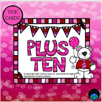 Plus Ten Valentine Bear