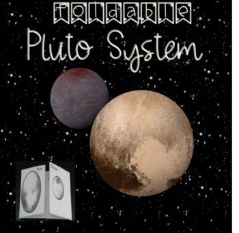 Pluto Charon System Foldable